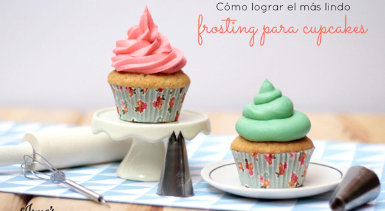 El secreto detrás del frosting perfecto para cupcakes