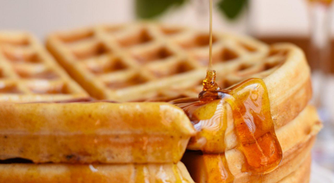 Receta de Waffles sin levadura