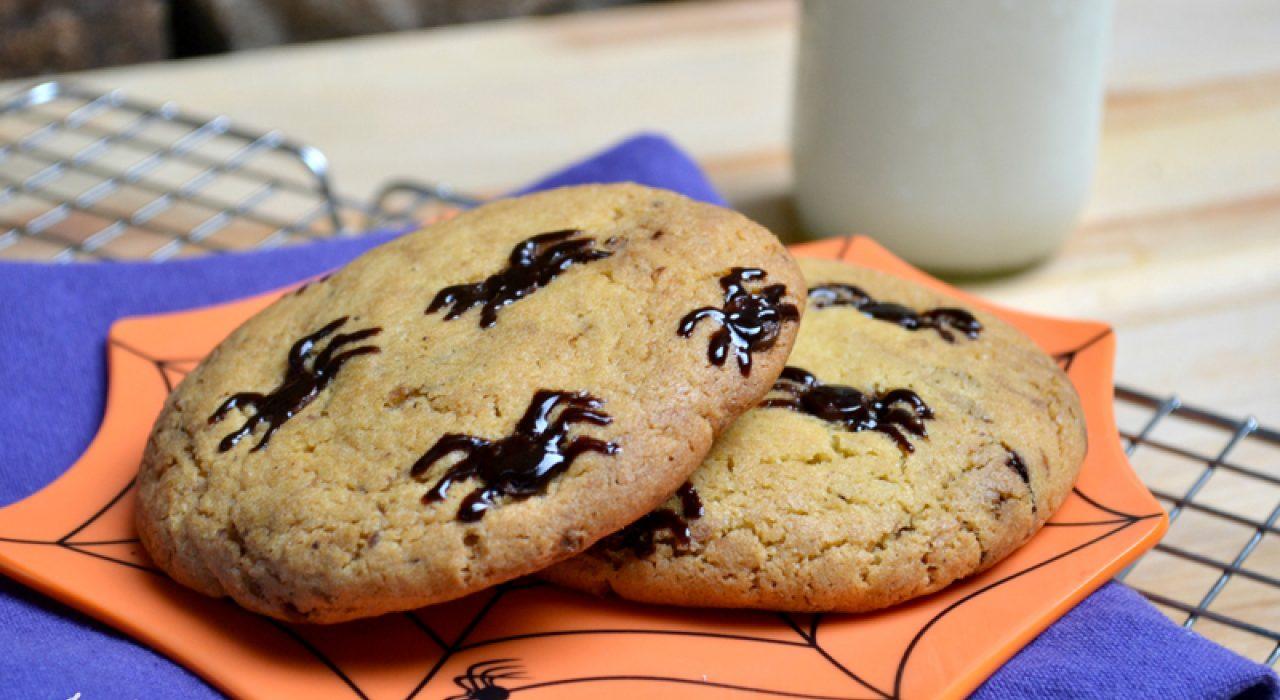 Idea para Halloween: galletas con arañitas!