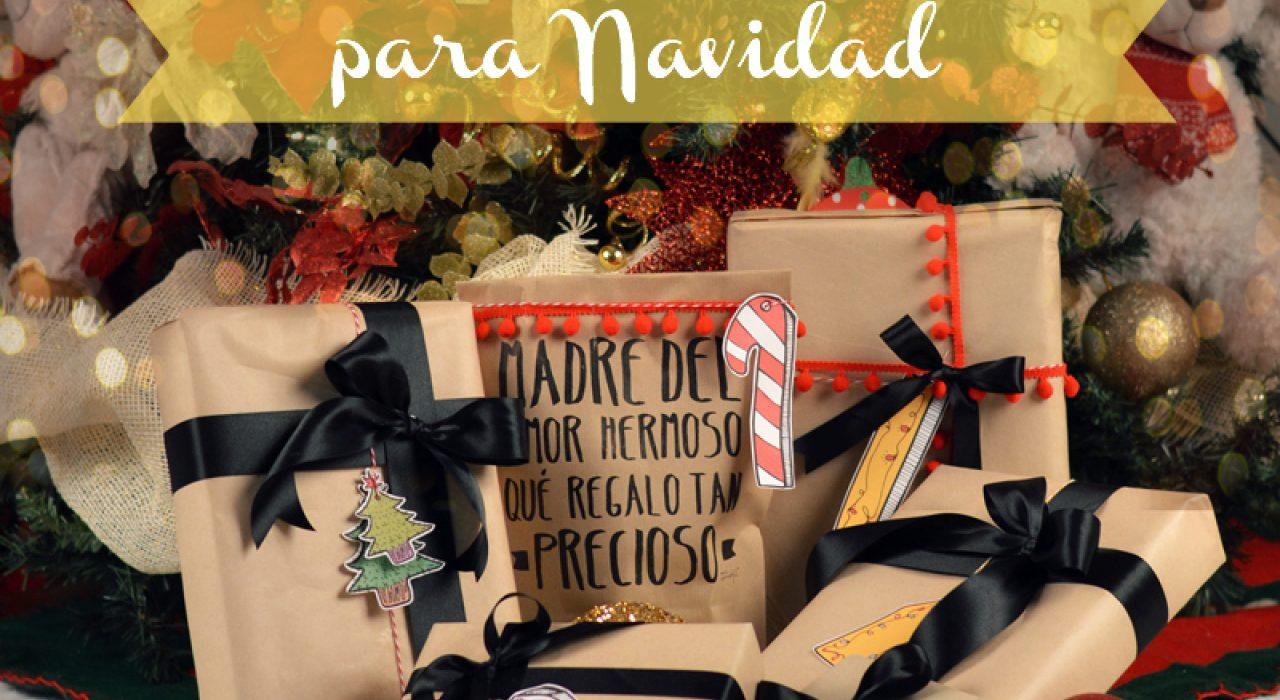 Etiquetas imprimibles para sus regalos de Navidad! :)