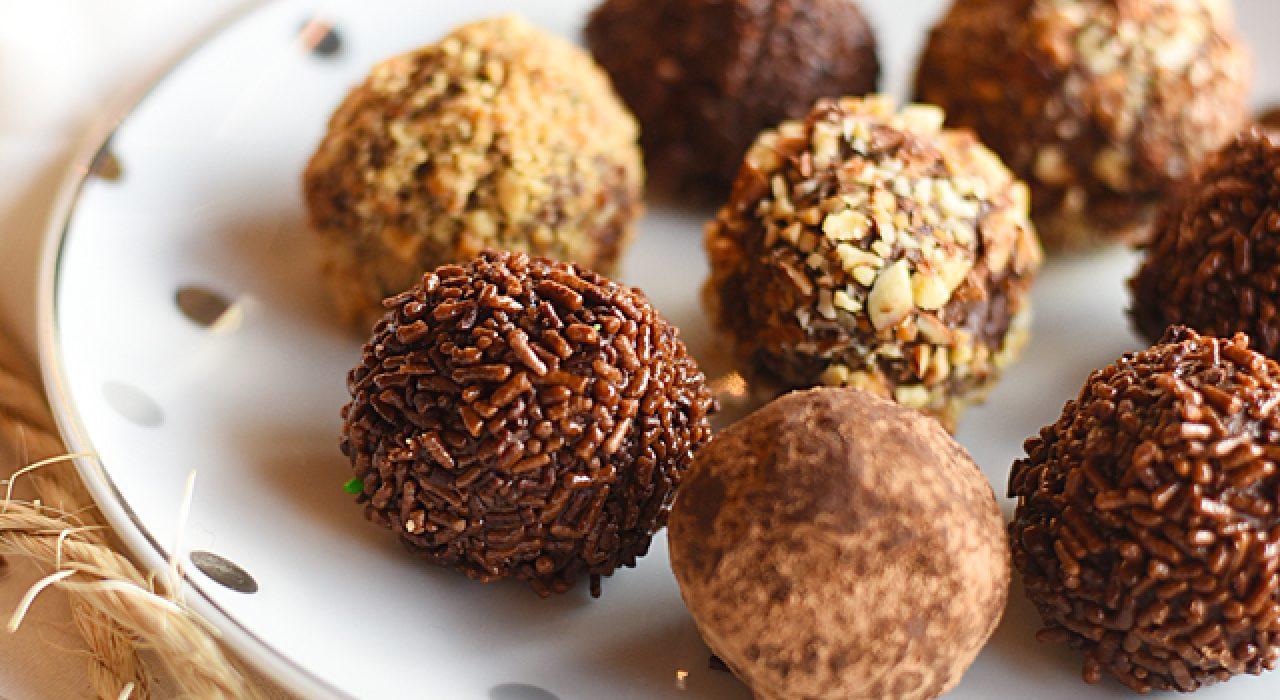 Las mejores trufas de chocolate del mundo!