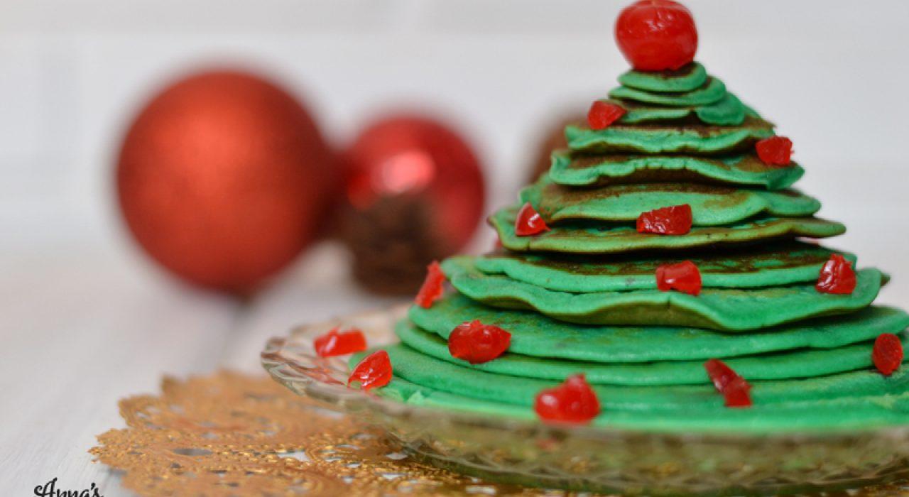 Panquecas / pancakes / tortitas de Navidad!!