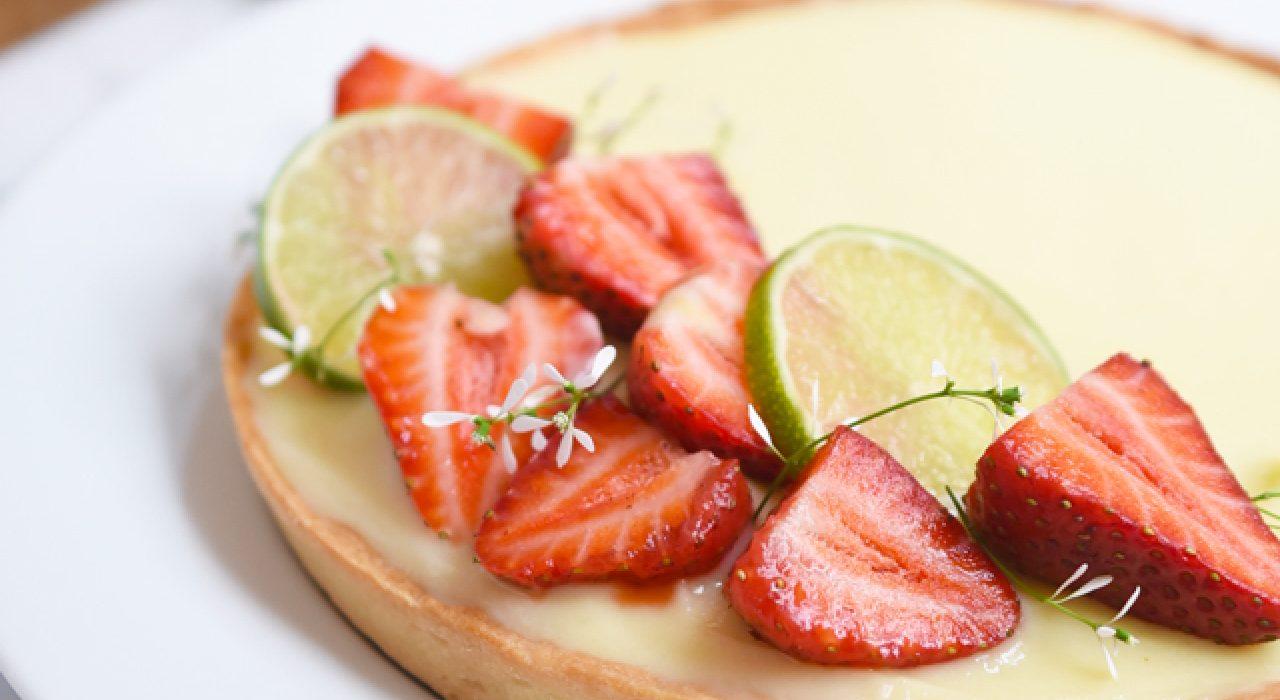 Tartaleta de limón y chocolate blanco (con la receta de la masa sablée o quebrada perfecta)