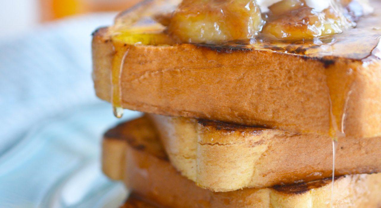 La mejor receta de tostadas francesas (con el mejor Caramel Macchiato!)