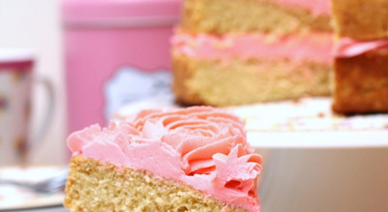 La mejor torta de vainilla!