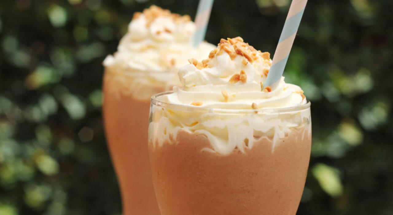 Receta Rápida: Milkshakes de chocolate y mantequilla de maní