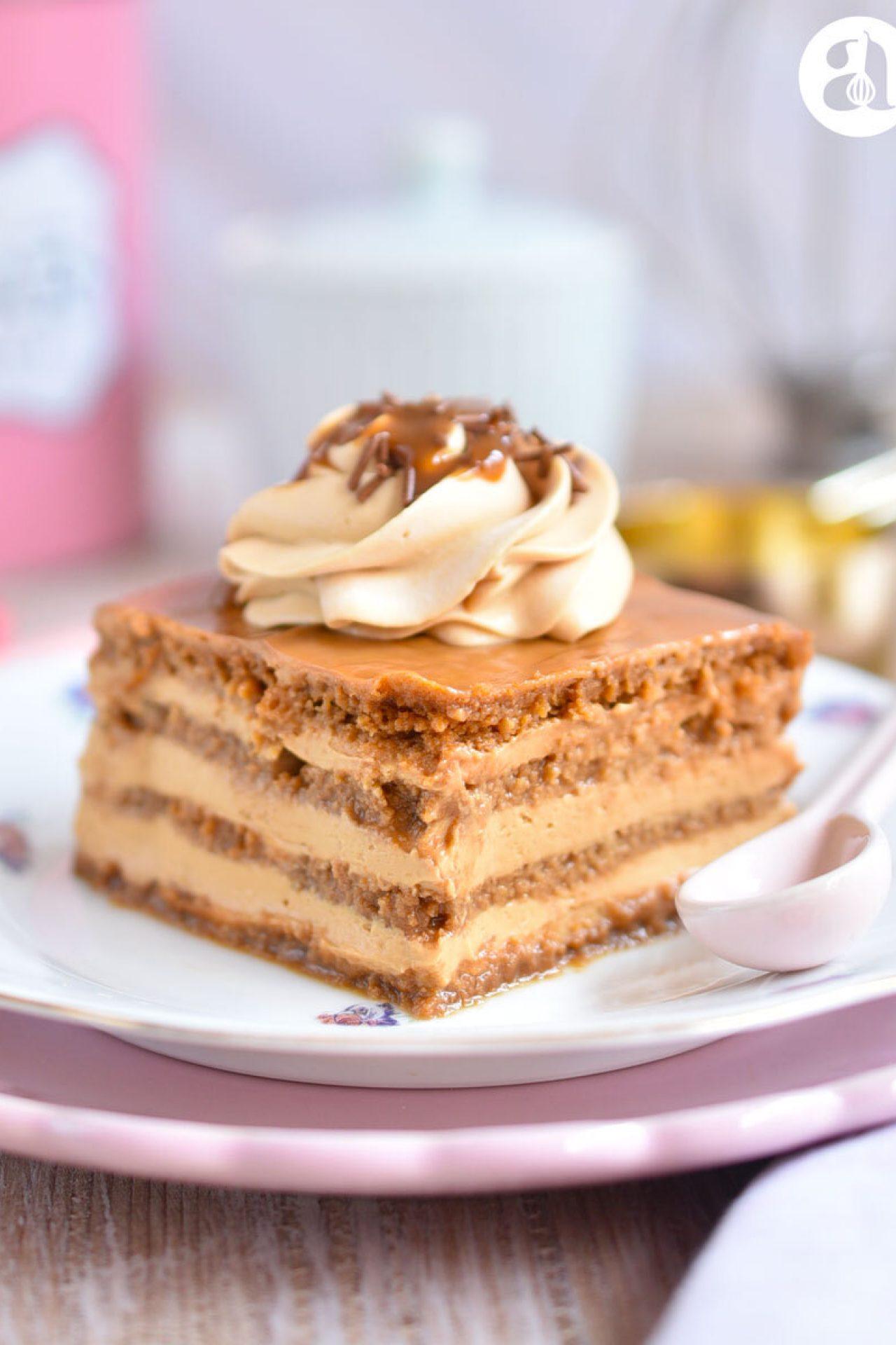 Marquesa de dulce de leche / arequipe / cajeta