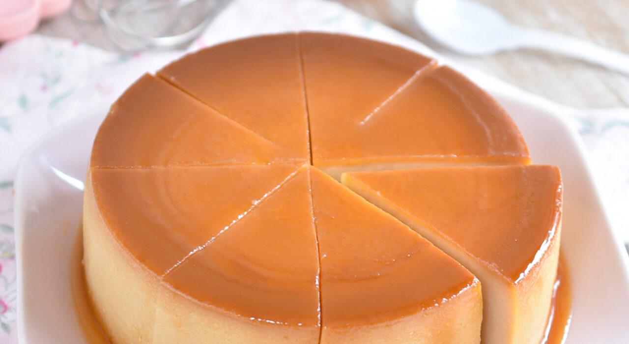 Quesillo o Flan de leche condensada y de Galletas María