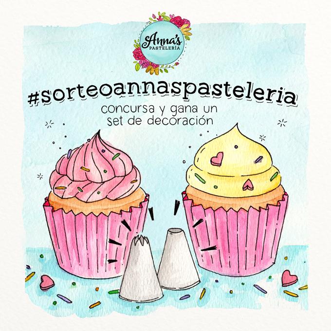 Concurso Anna's Pastelería blog