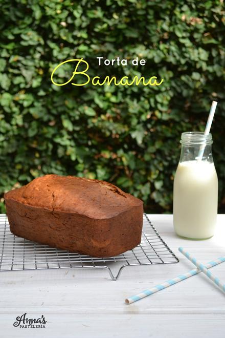 El mejor Banana Bread - www.annaspasteleria.com