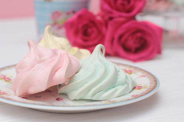 Suspiros o merengues perfectos www.annaspasteleria.com