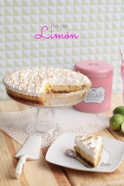 Pie de limón www.annaspasteleria.com