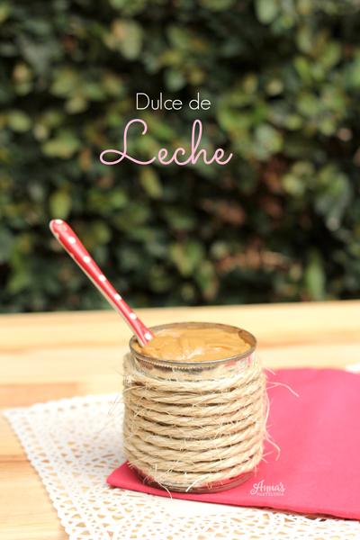 Dulce de leche (con sólo 1 ingrediente!!) delicioso y fácil. Receta de www.annaspasteleria.com