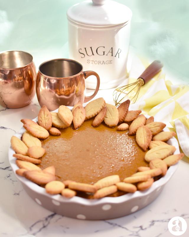 La mejor receta de pumpkin pie o pie de calabaza / auyama del mundo, de Anaisa Lopez del blog Annas Pasteleria!, perfecta para la cena de acción de gracias - Best ever pumpkin pie recipe from annaspasteleria.com